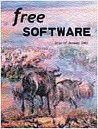Free Software Magazine. Vol. 1, Issue 1, Jan 2002
